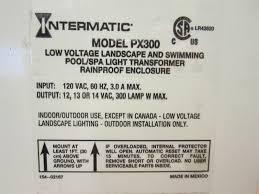 Low Voltage Landscape Lighting Transformer Intermatic Px300 Wiring Diagram Malibu Low Voltage Landscape