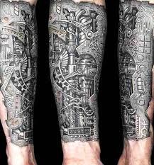 3d designs 3d forearm biomechanical ripped skin