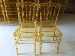 Napoleon Chair China Pc Napoleon Chair Clear Gold Plastic Napoleon Chair China