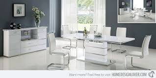 Dining Room Modern Splendid Ideas Modern White Dining Rooms Room Modern White Dining