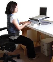 Laptop Cooling Desk by Amazon Com Uncaged Ergonomics Workez Professional Adjustable