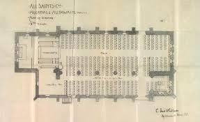 All Saints Church Floor Plans by Huthwaite All Saints Church