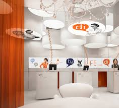 Bank Interior Design by New Interior Standard For Ing Bank Outlets By Medusa Industry