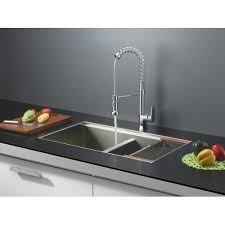 Kitchen Sink 33x19 Ruvati 33 X 19 Kitchen Sink With Faucet Walmart