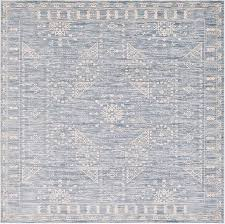 blue 8 u0027 x 8 u0027 restoration square rug area rugs esalerugs