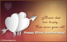 25th Anniversary Wishes Silver Jubilee 25th Anniversary Wishes Wishes Greetings Pictures U2013 Wish Guy