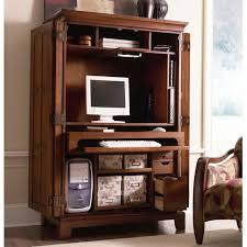 Computer Desk Armoire Oak The Useful Computer Armoire Desk Whalescanada Com