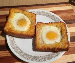 Toast In A Toaster Cheese Egg Toast 5 Steps With Pictures