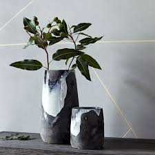 West Elm Vases Best 25 Modern Vases Ideas On Pinterest Beach Style Live Plants