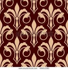 what is floral pattern in french medieval stylized floral compositions royal french stock vector