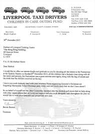 thank you letters queenies christmas charity merseyside