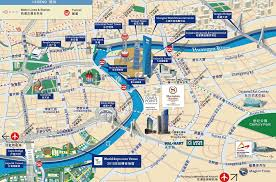 map with attractions tourist map major tourist attractions maps