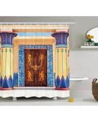 Shower Curtains Sets For Bathrooms by Summer Sale Egyptian Decor Shower Curtain Set Ancient Egyptian