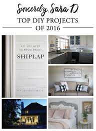 5 best diy projects of 2016 sincerely sara d