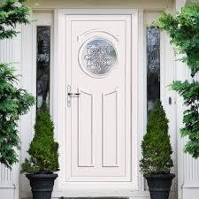 Pvc Exterior Doors External Upvc Shiel Glisten Door External White Pvc Doors