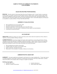 writing resume summary sales resume summary free resume example and writing download example summary resume resume samples summary examples sample objective nursing resume samples summary recruiter makemoneywithalex