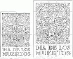 day of the dead printables coloring pages coloring home