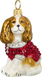 pet set cavalier king charles spaniel ornament for the
