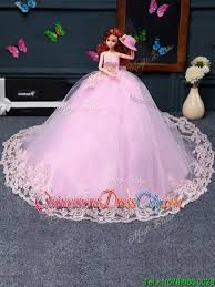 quinceanera dolls new style baby pink quinceanera doll dress in tulle 58 87