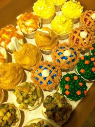 Thanksgiving Dinner Cupcakes Cupcakes Utah Valley