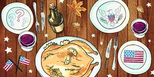 thanksgiving dinner cartoon pics fight flight or drink surviving thanksgiving when you how