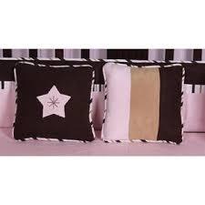 Pink Brown Crib Bedding Geenny Pink Brown Moon 13pcs Crib Bedding Set