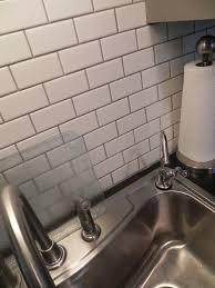 white tile gray grout backsplash new ideas white tile gray grout