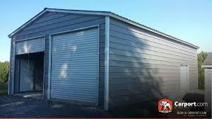 Two Car Garages by Two Car Garage Metal U0026 Steel Carports