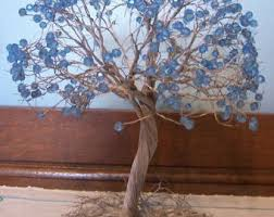 magic tree diy bead embroidery picture kit housewarming gift idea