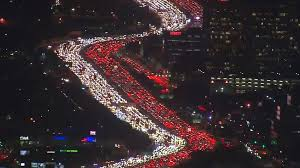 this los angeles thanksgiving traffic jam is the stuff travel