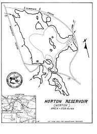 map of northton ma norton reservoir map norton ma