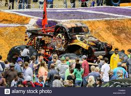 monster jam new trucks new orleans la usa 20th feb 2016 captains curse monster truck
