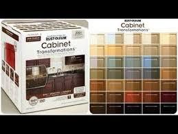 rustoleum kitchen cabinet transformation kit rustoleum cabinet transformation youtube