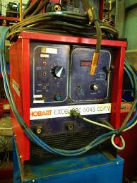 hobart excel arc 6045 mig welding machine with tweco no 5 welding
