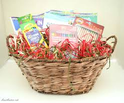 basket gift ideas coloring book gift idea giftbasket michaelsmakers stuff
