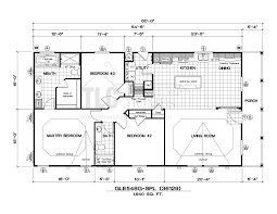 Floor Plans For Trailer Homes Floor Plans Golden West Limited Series Tlc Manufactured Homes