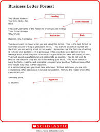 business letter format format for business letter template business