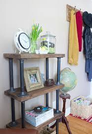 Diy Desk Pipe by Diy Industrial Style Bookshelf