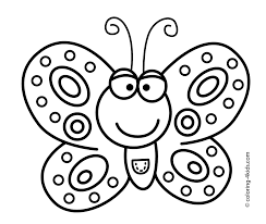 butterfly drawings for kids smiling butterfly coloring pages for