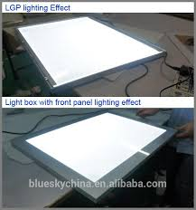 factory diy magnetic panel acrylic slim led light box photography for display