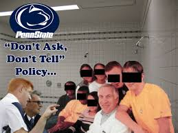 Jerry Sandusky Meme - penn state don t ask don t tell policy picture ebaum s world