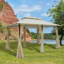 Patio Canopy Gazebo by Outsunny 22 3ft Octagonal Party Tent Wedding Event Shelter Outdoor
