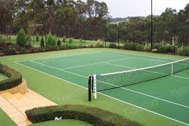 Backyard Tennis Courts Tigerturf India