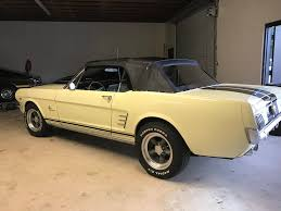1965 yellow mustang 1965 ford mustang yellow convt carlynn clean classics
