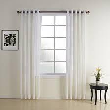 Window Length Curtains Polyester Curtains 102 Length Amazon Com