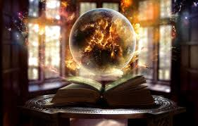 crystal light wallpapers wallpaper the book sphere ball fire sparkles magic windows