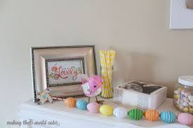 easter mantel decorations easter mantel decorations