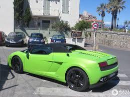 Lamborghini Gallardo Green - lamborghini gallardo lp560 4 spyder 18 july 2014 autogespot