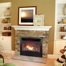 Gas Fireplace Mantle by Best 25 Ventless Propane Fireplace Ideas On Pinterest Vent Free