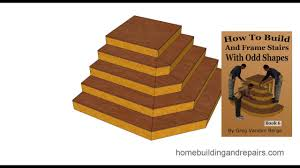 Stairs Book by How To Build And Frame Stairs With Odd Shapes U2013 Book Example 2